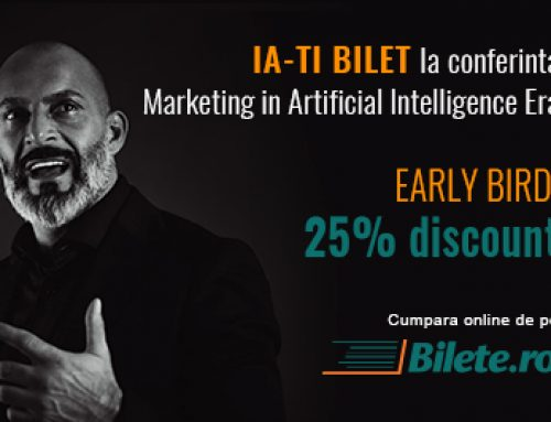 Bilete EARLY BIRD la conferinta de marketing