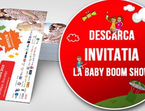 S-a deschis Baby Boom Show – editia de toamna!